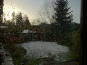 Rain on the Conservatory