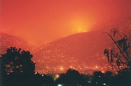 Canberra fires 2003