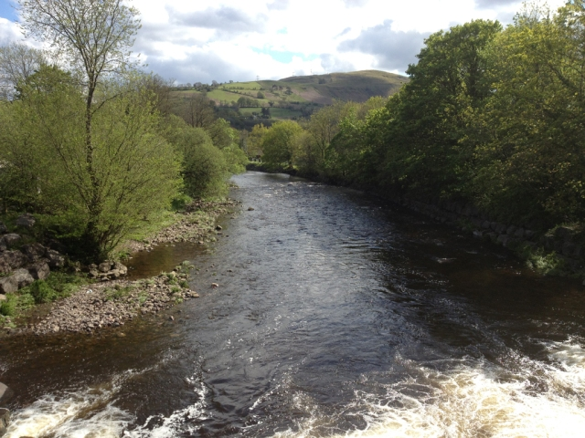 River Tawe at Ystradgynlais