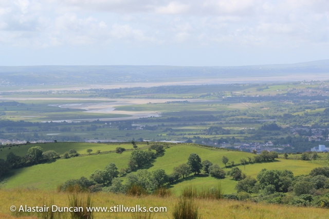 Loughor Estuary and the Gower
