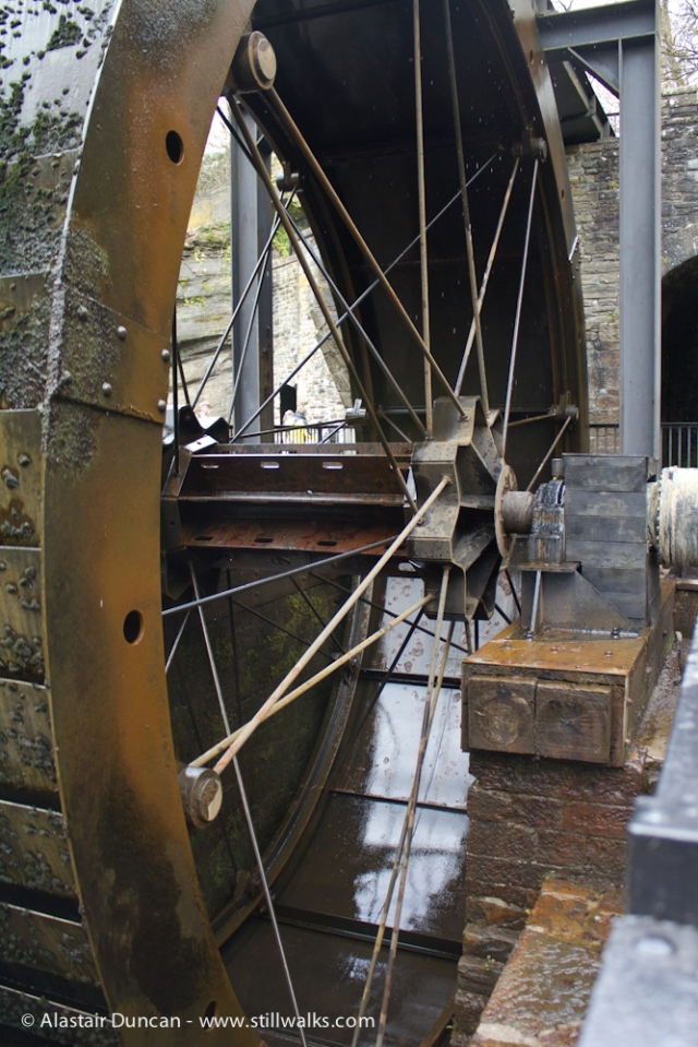Aberdulais Falls Water Wheel