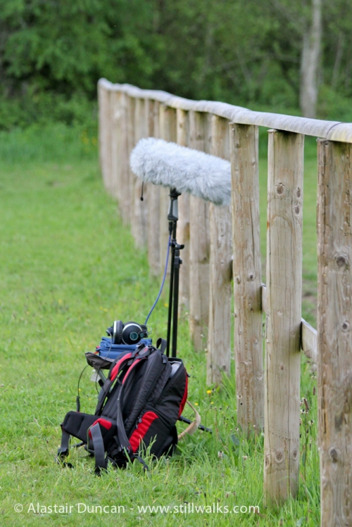 field recording kit