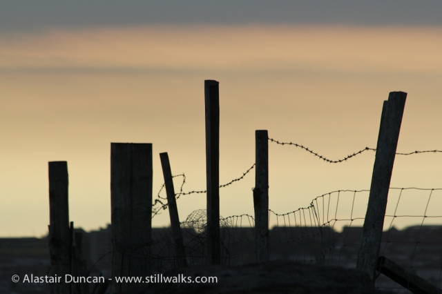 Kilvey Hill Fence