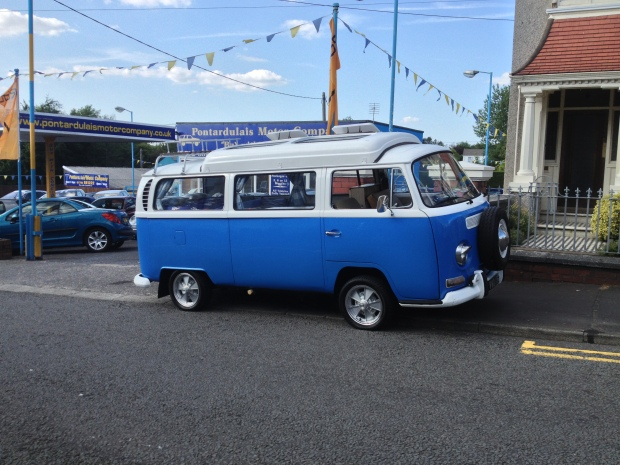 New Old VW Camper van