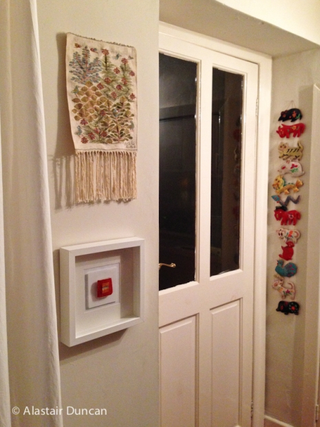 Mini Tapestry in situ