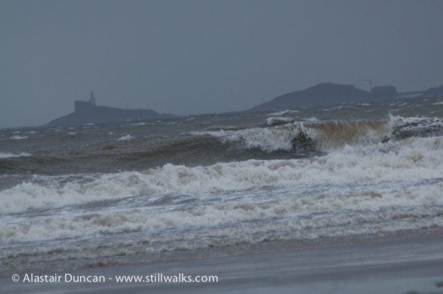 High Winds in Swansea Bay