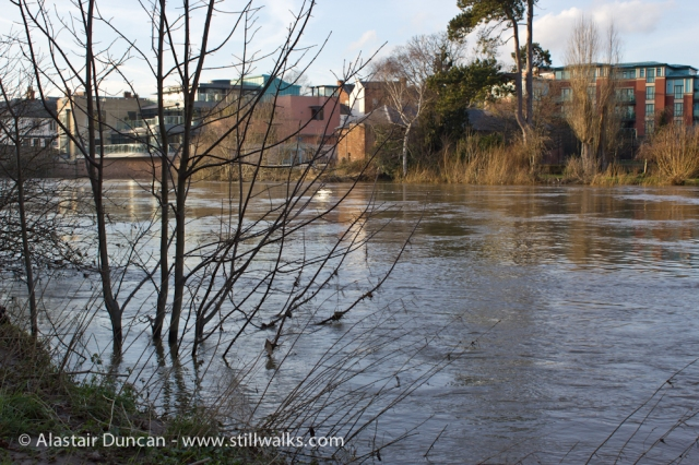 River Wye flooding