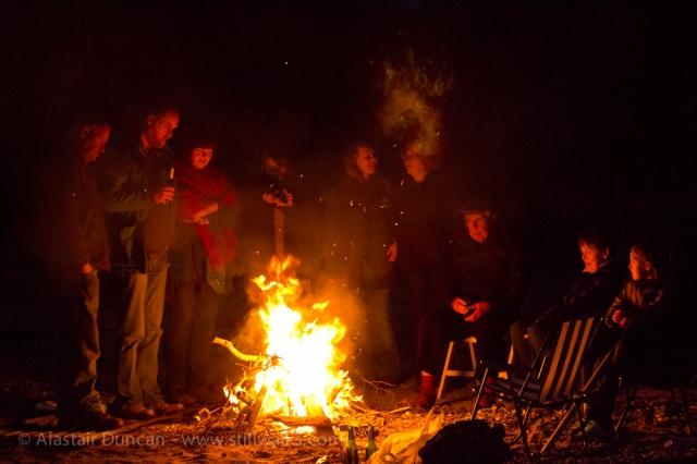 bbq bonfire