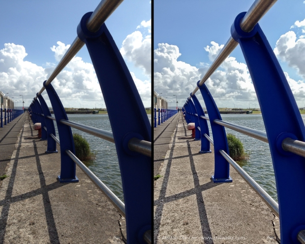 before and after - railings