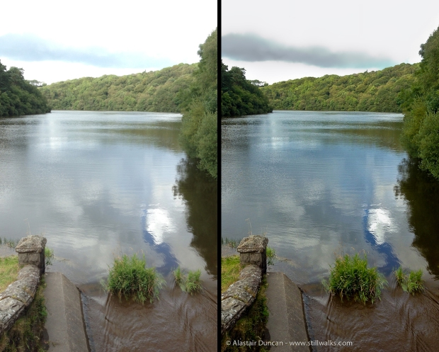 before and after - reservoir