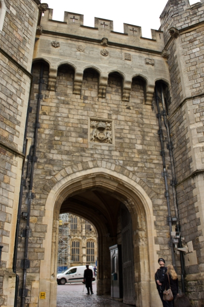 Windsor Castle - Henry VIII Gate