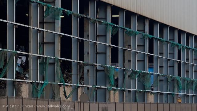 torn industrial screens