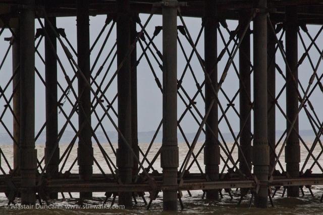 Penarth Pier structure