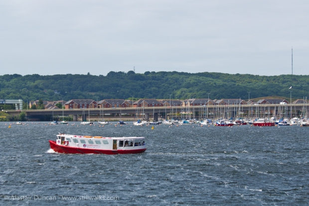 Cardiff Bay water taxi