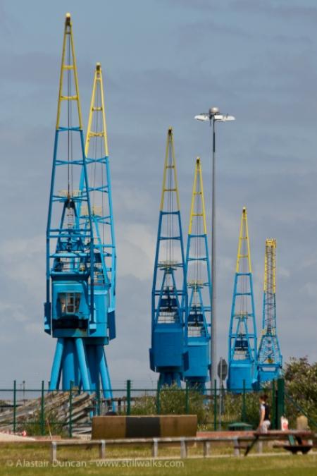 Cardiff Cranes
