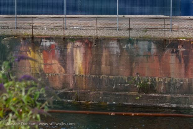 old dock wall