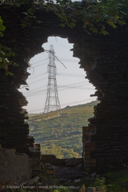 ruins and pylon