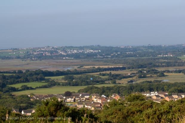 Loughor estuary landscape