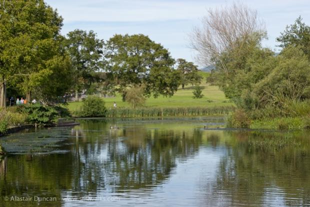 Garden of Wales entrance lake