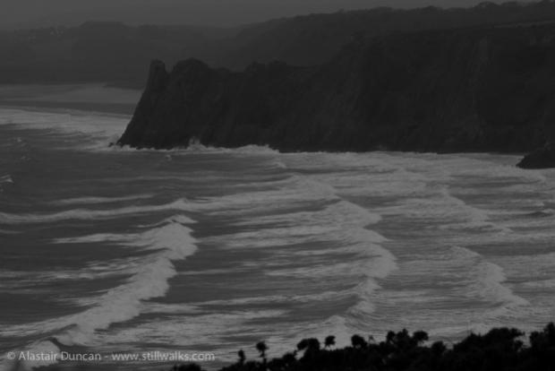 Gower cliffs