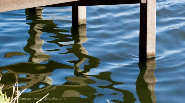 Hemlington Lake stanchions