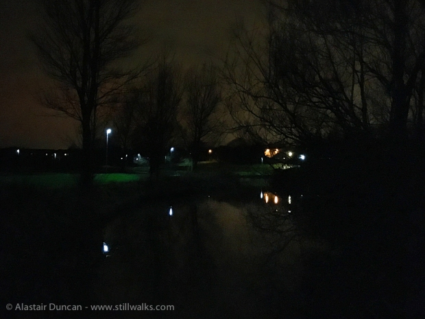 Hemlington Lake at Night