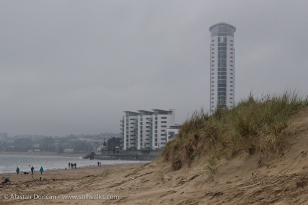 Swansea Bay and Meridian Tower