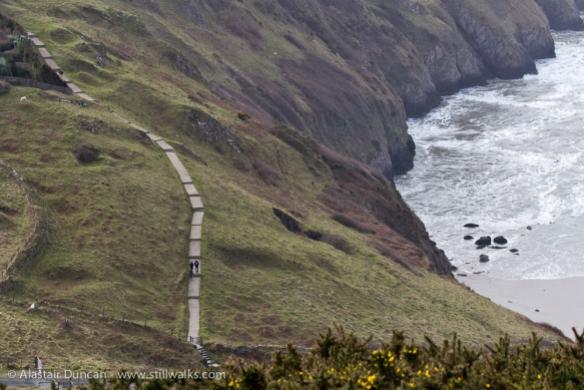 Cliff footpath